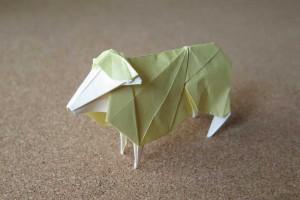 折り紙 - 羊