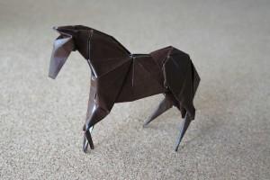 折り紙 - 馬