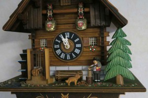 ハト時計-2